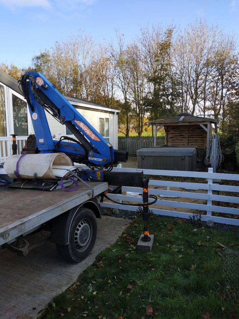 Hot Tub Move to West Yorkshire