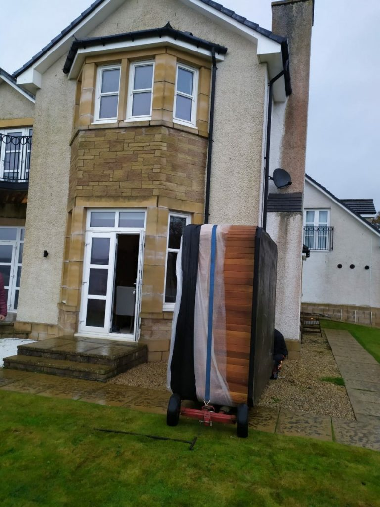 Hot Tub Delivery - Hot Tub Transport - Hot Tub Relocation - The Hot Tub Mover