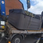 Hot Tub Move - A Day in the North East