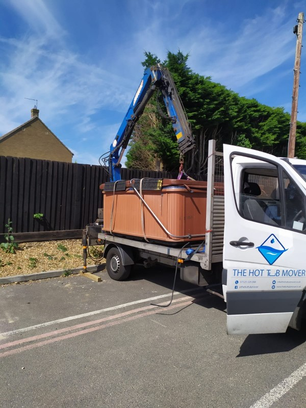 Hot Tub Removal and Relocation – York to Malton