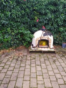 Pizza Oven - ready to be lifted - The Hot Tub Mover