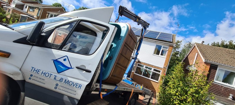 Hot Tub Mover in Nottingham