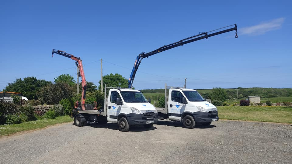 Our 2nd Iveco bespoke crane truck is on the road