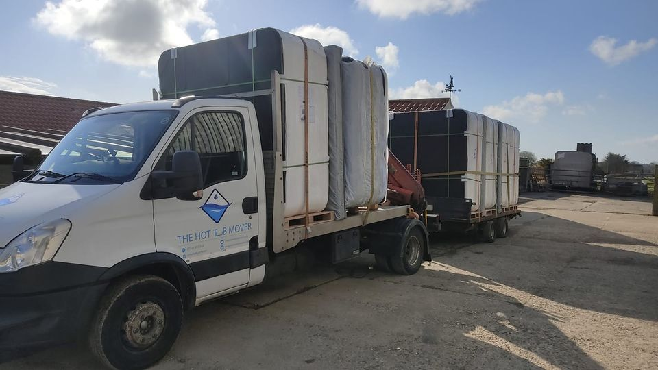 We moved a truck and a trailer full of Brand