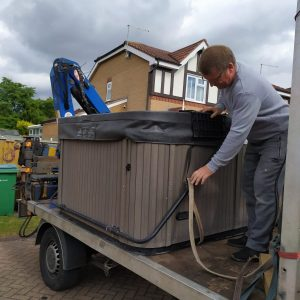 Hot Tub Removal - The Hot Tub Mover
